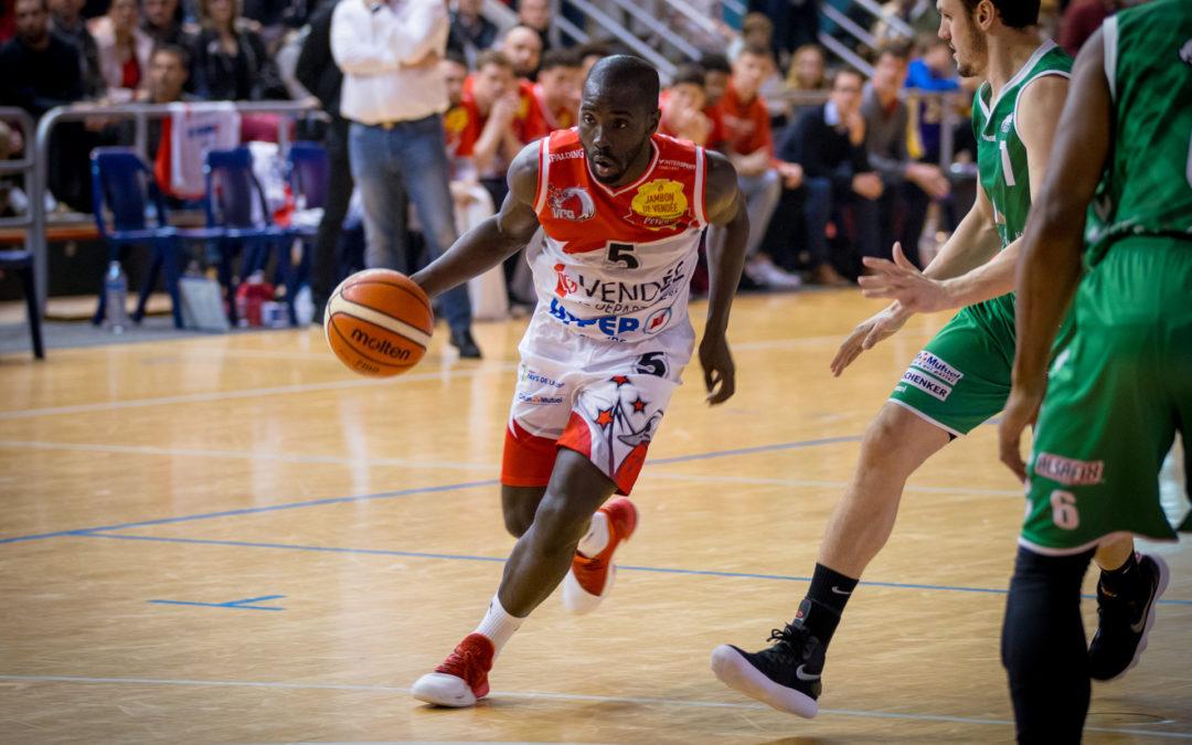 Ibrahim Saounera VCB Vendée Challans Basket Gries - Benoît Gadé - by the way
